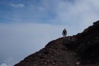 Bruce at the top of Mt Fuji.