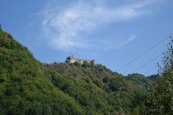 Crumbling fortifications protecting Transylvania