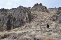 Rocky outcrops Altyn Emel Park
