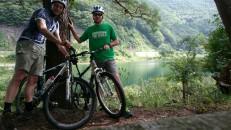 Bruce and Kristian at Lake Shoji