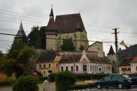 3 walled church in Biertan