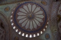 Blue Mosque ceiling rose
