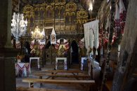 Inside oldest wooden church