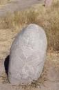 Rather new headstone
