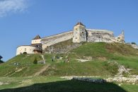 Fortification on the hill outside Brasov