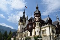 Peles castle at Sinaia