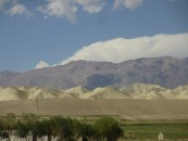 Naryn - 3 mountain ranges - different colours