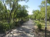 Public park Baikonur