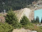 Dam Wall - Great Almaty Lake