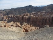 The Charyn Canyon. There are a few pictures of this, despite me only picking a few,  as it was so dramatic. Sorry about that.