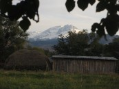 View from our Saty guesthouse