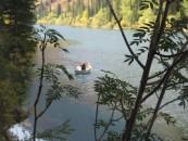 Kol-sai Lake rower was a park ranger collecting litter.