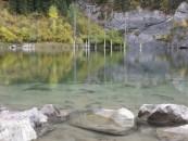 Lake Kaindy refelctions